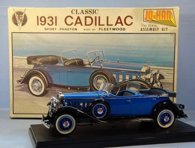 1/25 JoHan 1931 Cadillac V-16 Fleetwood Sport Phaeton by Jerry ...